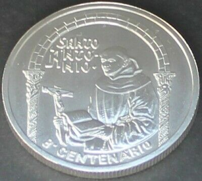 1995 PORTUGAL 500 Escudos SILVER 800 YEARS BIRTH OF SAINT ANTHONY UNC BU COIN