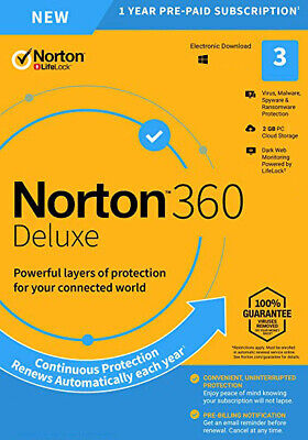 Norton Security Premium - 3 PCs - Windows - Australian Genuine Product Key