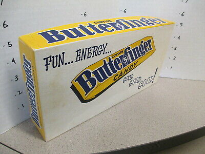 BUTTERFINGER Curtiss candy bar box 1959 store display counter chocolate