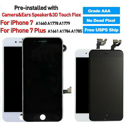 OEM For iPhone 6 6s 7 7 Plus 8 Screen Replacement Lcd Digitizer Complete Button