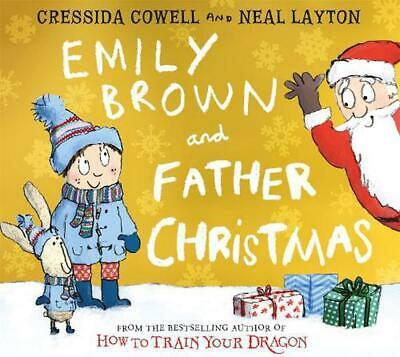 Emily Brown and Father Christmas by Cressida Cowell Paperback Book Free Shipping