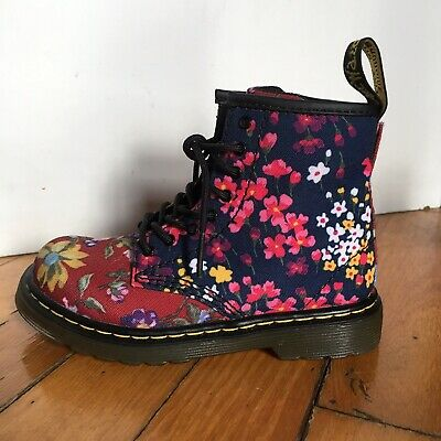 NEW Doc Martens 1460 W Botanics Toddler Girls 10