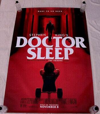 DOCTOR SLEEP Ewan McGregor Stephen King 2019 BUS SHELTER MOVIE POSTER 4'x6'