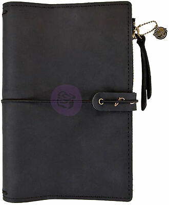 "Prima Traveler's Journal Leather Essential 5""X7.25""-Nightfall, 630430"