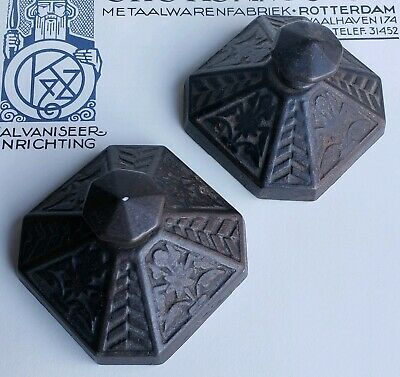 Antique Eastlake Victorian Cast Iron Paperweights Blotters Aesthetic Period