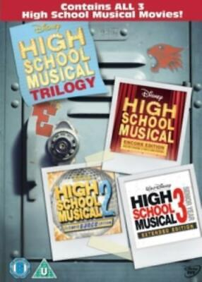 HIGH SCHOOL MUSICAL 1-3 [Region 2 DVD,sealed]