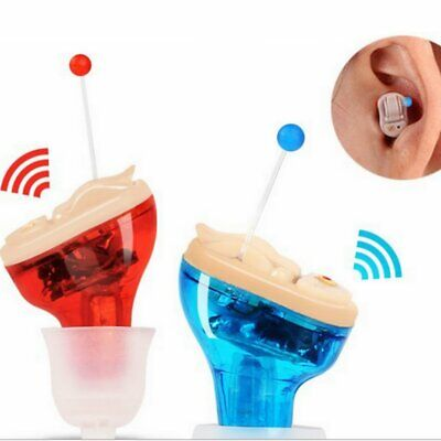 Portable Invisible Ear Hearing Aid Enhancer Mini In-Ear Sound Amplifier Voice