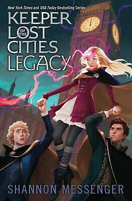 Legacy 8 (Keeper of the Lost Cities) ByShannon Messenger HARDCOVER Childrens NEW