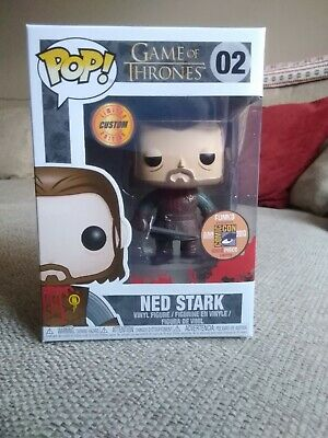 Funko pop Vinyl Ned Stark Game of Thrones, Custom headless sdcc