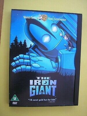 The Iron Giant ( Dvd, 2000 Animation) Used