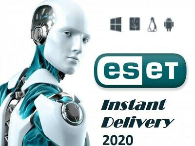 ESET Internet Security 2019 - 2020 World Edition. Shipping is Free
