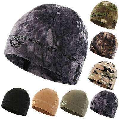 Tactical Beanie Hat Polar Fleece Watch Cap Army Military Combat Hunting Shooting