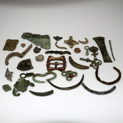 Stunning Lot Of Ancient Greek To 17-18 Century Appliques Fragments And Ornaments