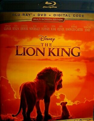 NEW - The Lion King 2019 Live - Action  Blu Ray + DVD. No digital