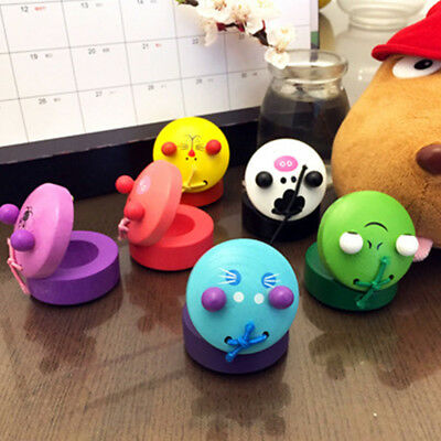 Cartoon Cute Animal Shape Wooden Castanet Toy Musical Instrument For Kid Gift