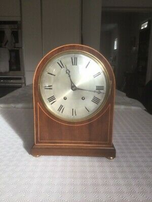 Handsome Large Mantel Clock, Good Condition, Edwardian?