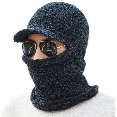Knitted Hat Scarf Winter Skullies Beanies Female Winter Hats For Women Men Baggy