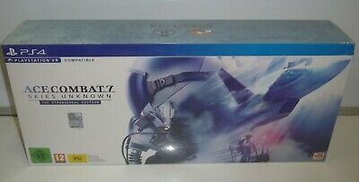 Ace Combat 7 Skies Unknown Collector's Edition Ps4 Pal Sealed Refion Free Namco