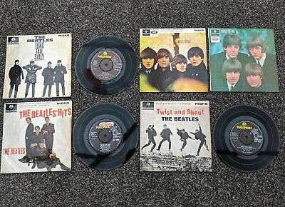 The Beatles Job Lot Collection Of 5 E.p's Inc Beatles Hits + Twist + For Sale