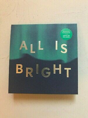 Starbucks Card - 2019 Holiday Christmas - All Is Bright New No Value