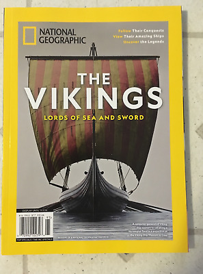 The VIKINGS National GEOGRAPHIC Special Edition LORDS Of SEA & SWORD 112 Pages