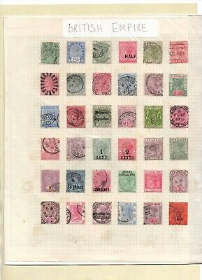 British Empire SELECTION Good to FINE Used/Mint Various COMMONWEALTH Queen Vic