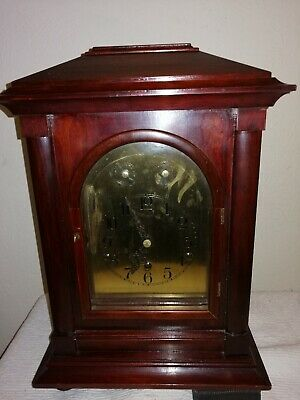 Antique, Westminster Chimes Bracket Clock, Made in Germany. Working Order.