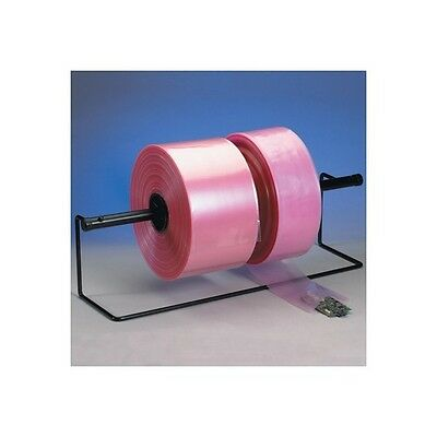 """Anti-Static Poly Tubing, 4 Mil, 18"""" x 1075', Pink, 1/Roll"""