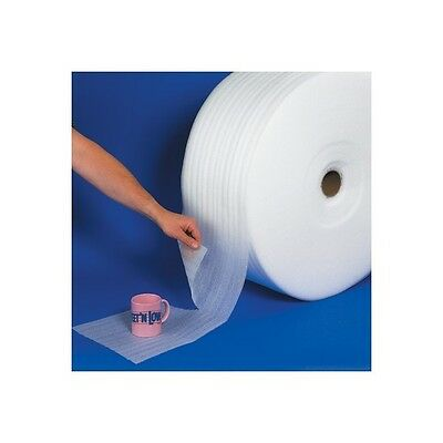 """""""UPSable Perforated Air Foam Rolls, 1/8"""""""" x 12"""""""" x 350', White, 1/Each"""""""
