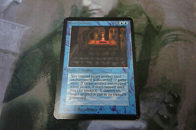 MTG - 1 x ALPHA Steal Artifact - See Photos for Condition - Magic the Gathering