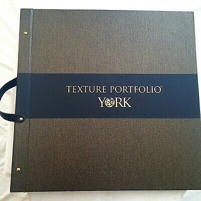 YORK Texture Wallpaper Sample Book Scrapbooking Journals Crafts Card Making