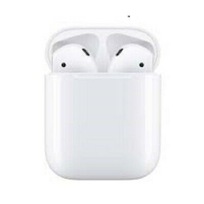New Sealed Apple AirPods 2nd Gen.. MV7N2ZM/A with Charging Case White Bluetooth