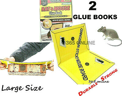 Rat Glue, Mouse Glue, Mice Glue, DURABLE STRONG Sticky Book