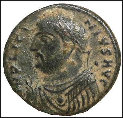 Licinius I Bronze Follis old ancient roman coin Rome Empire Imperial Authentic