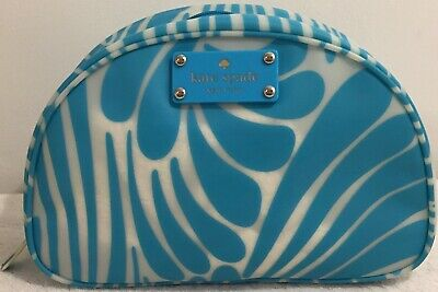 Kate Spade New York Cosmetic Bag....Teal Color...Very Good Condition!