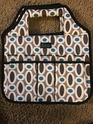 Clever Container Organizer Tote Bag Stuff & Go Craft Multi pocket