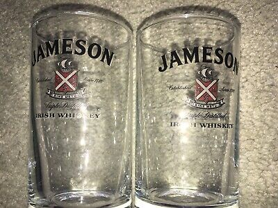 jameson irish whiskey Collectable Glasses X Two