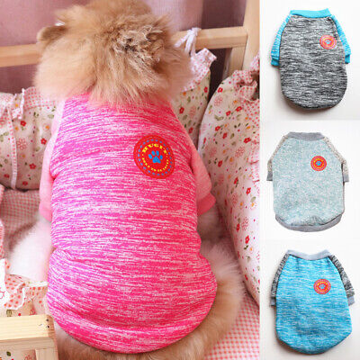 Small Pet Dog Winter Sweater Jumper Clothes Puppy Cat Coat Apparel Warm Knitwear