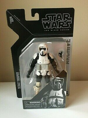 Star Wars Black Series Hasbro Archive Collection Biker Scout Action Figure