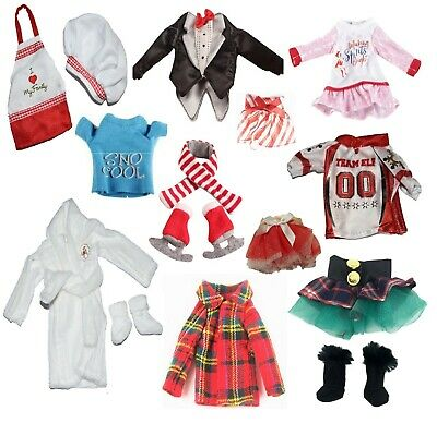 Christmas Elf Clothing for On Shelf Dolls - Various Styles