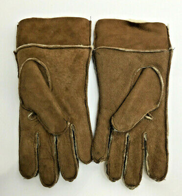 Vintage Genuine Sheepskin Gloves Size Large