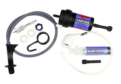 Sawyer Point Zero Two Water Purifier Kit with Bucket Adapter Kit Free Shipping