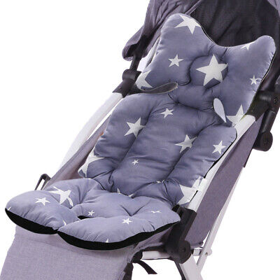 Washable Baby Kids Soft Stroller Pram Pushchair Car Seat Liner Pad Cushion Mat