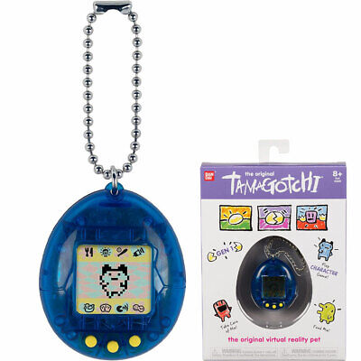 BANDAI Tamagotchi Original Interactive Pet - Blue