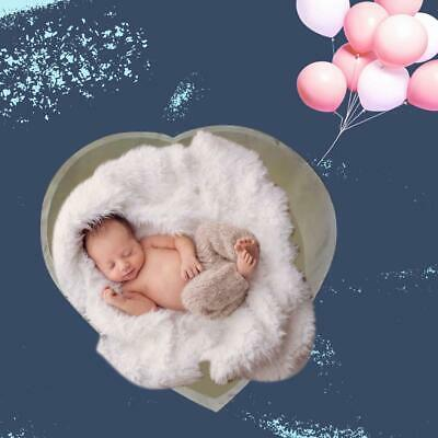 Newborn Baby Photography Love Shape Bed Props Small Wooden Baby Photography Love