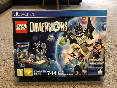 LEGO Dimensions: PS4 Starter Pack Plus 3 Fun Packs