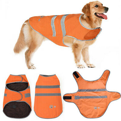 Pet Dog Waterproof Winter Warm Coat Clothes Small Large Dogs Padded Vest Jacket