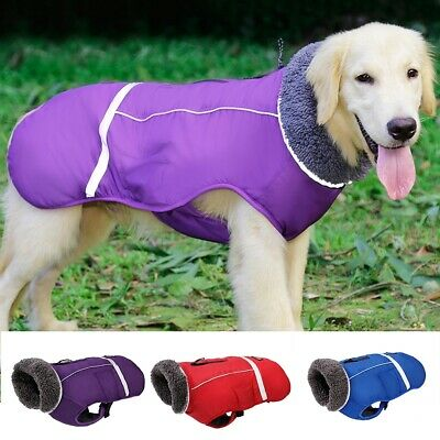 Waterproof Warm Winter Dog Coats Clothes Padded Vest Pet Jacket Small/ Large Lot