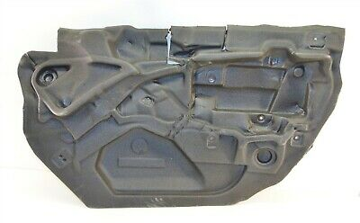 BMW E46 Front Left Door Window Sealing Black 51338194695