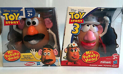 Toy Story 3 Classic Mr & Mrs Potato Head NEW SEALED